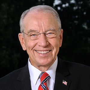 Official Portrait of Chuck Grassley